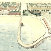 1930 The Ewing Plan recommended sweeping changes to the beachfront