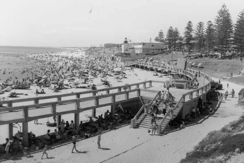 Boardwalk at Cottelsoe Beach
