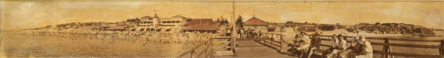 1930 View from end of jetty