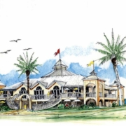 1994 Sketch design for the Indiana L.J Scanlan and Associates