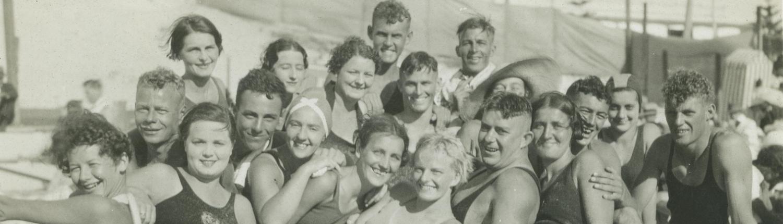 Cottesloe Surf Life Saving Club members, 1935